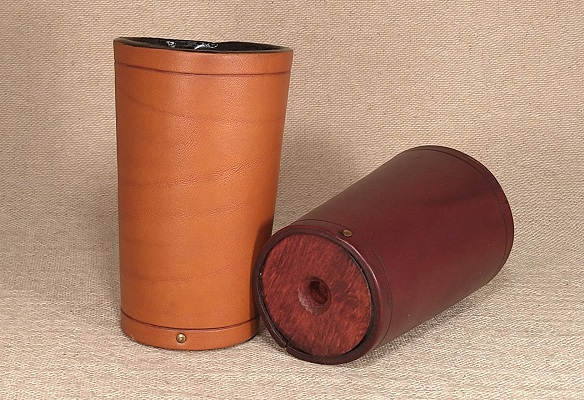 Leather Shive Beakers