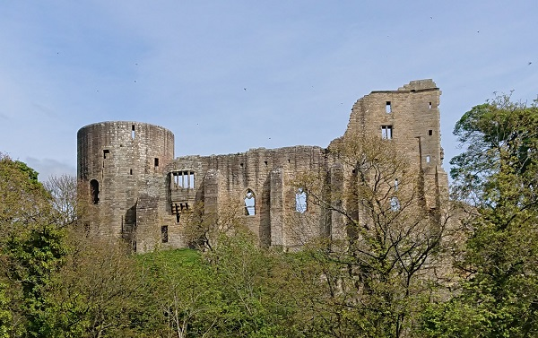 A clear view of Barnard Castle County Durham