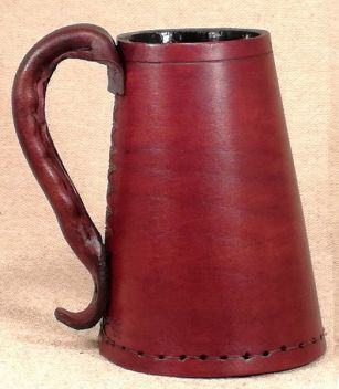 Leather Tankards, Jacks & Goblets