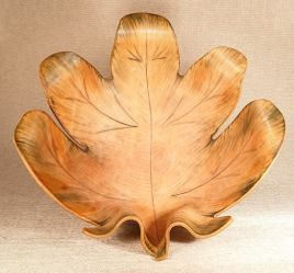 Hand Moulded Leaf Bowls