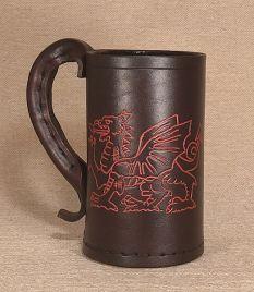 Welsh Dragon -  Hand Carved or Engraved